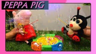 off topic- Juegos de Pesca: Peppa Pig ★Lolo y Pompas