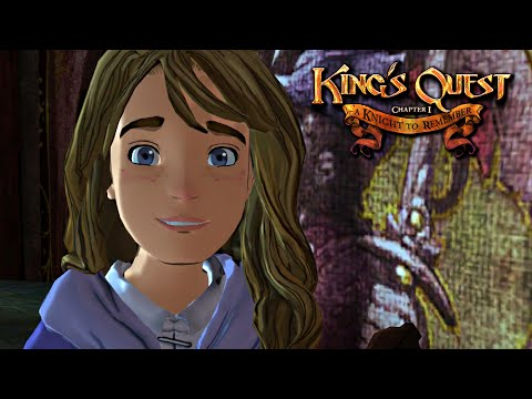 Kings Quest Chapter 1: A Knight to Remember Walkthrough (FULL EPISODE)