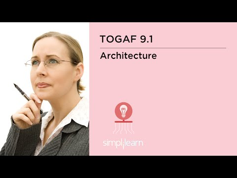 TOGAF Content Metamodel | TOGAF 9.1 Training Video