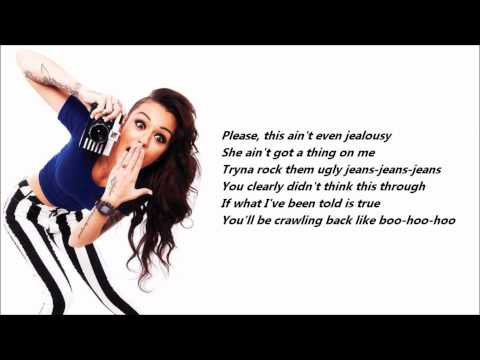 cher-lloyd---want-u-back-/\-lyrics-on-a-screen