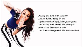 Repeat youtube video Cher Lloyd - Want U Back /\ Lyrics On A Screen
