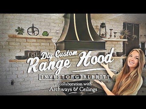 Custom Kitchen DIY Range Hood with Investorgirlbritt