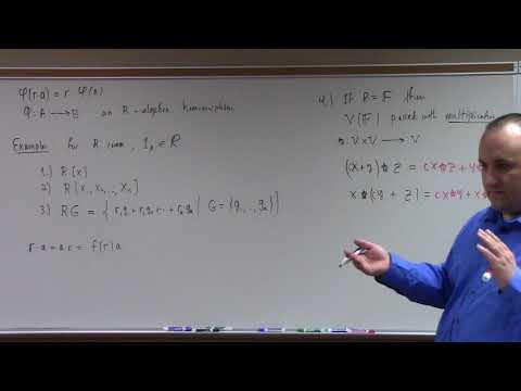Abstract Algebra II: module basics, tensor product of modules begins, 4-11-18