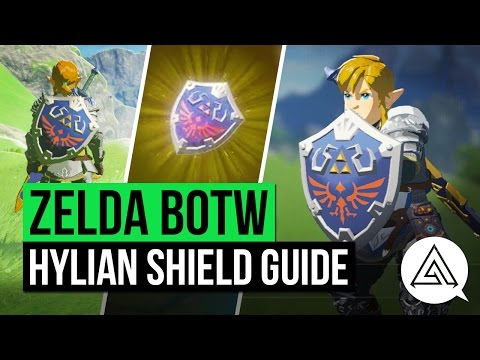 Zelda: Breath of the Wild - how to get the Hylian Shield - VG247