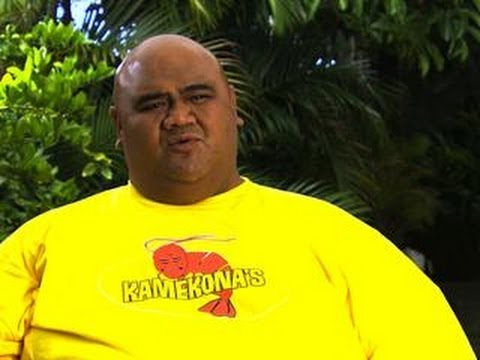 Hawaii 50  Behindthes with Taylor Wily Kamekona