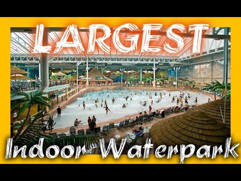 Biggest Indoor Waterpark In AMERICA!