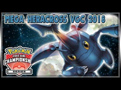 MEGA HERACROSS VGC 2018 DEBUT! | VGC 2018 | Pokemon Ultra Sun & Ultra Moon LIVE Wifi Battle Spot #61