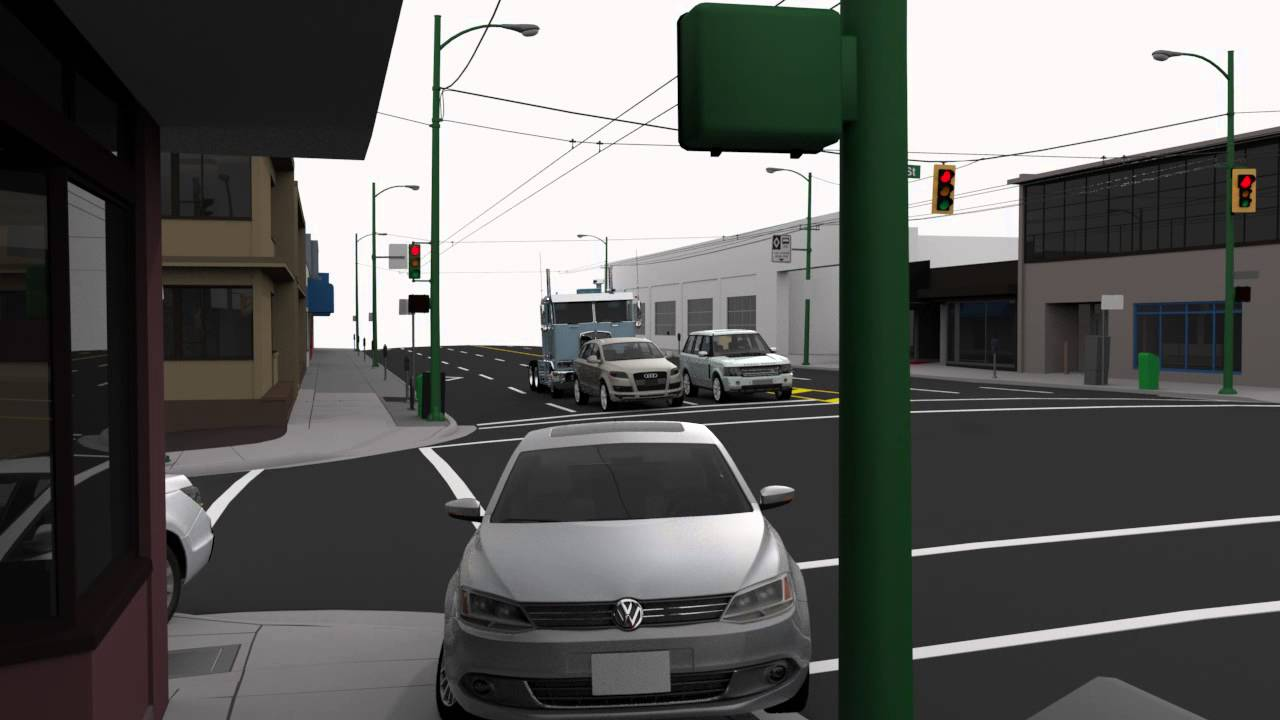 Accident Reconstruction 3D Animation - YouTube