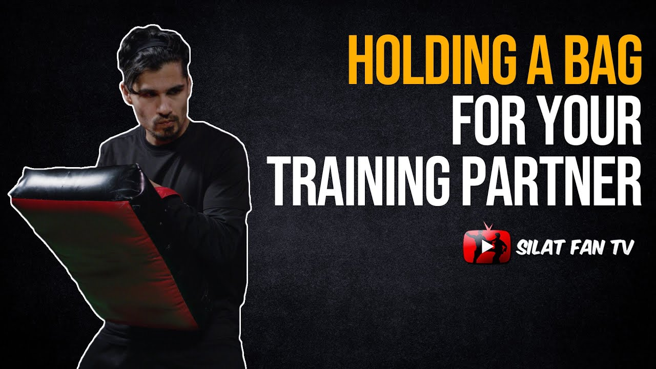 How to hold a bag for your training partner | Training Tips | Pencak Silat
