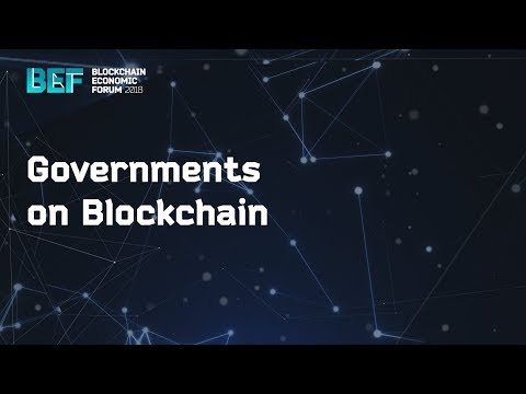 "BEF2018: ""Governments on Blockchain"""