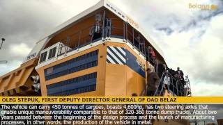 BelAZ rolls out world's largest dump truck