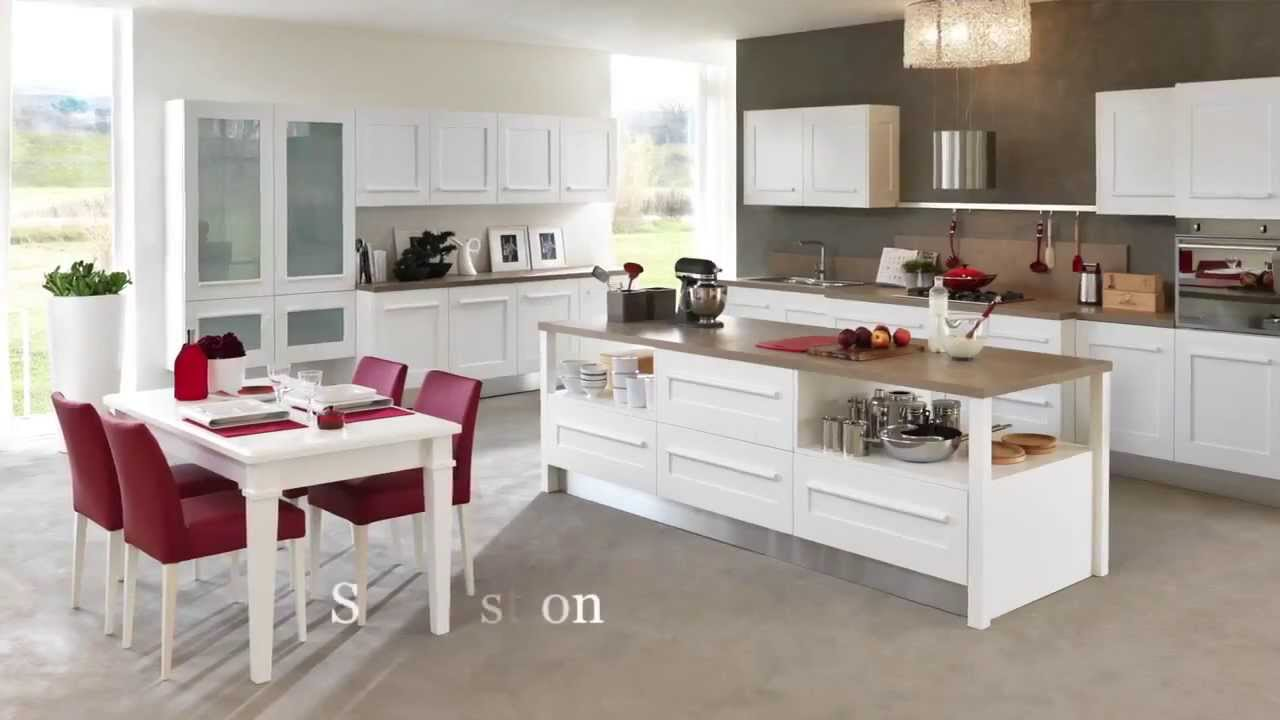 cucine lube gallery youtube. Black Bedroom Furniture Sets. Home Design Ideas