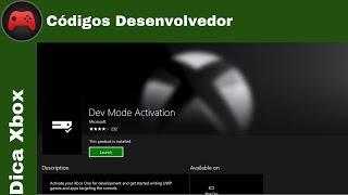 [Dica Xbox] Códigos para Desenvolvedor