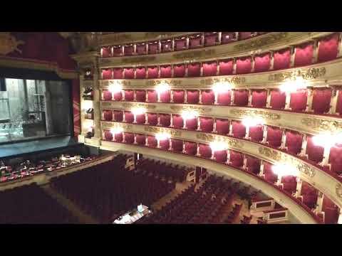 La Scala, Famous Opera House, Milan, Italy   June 2018
