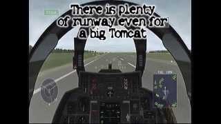 Over-G Fighters VF-142 Landing Procedures