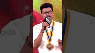 Thalapathy  speech for former's - Vertical video
