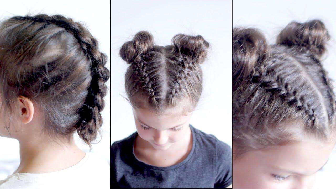 Braiding Hairstyles with Thin Fine Hair | Milabu - YouTube