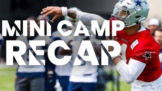 Dallas Cowboys Mini Camp Recap (10 Standouts/Observations)