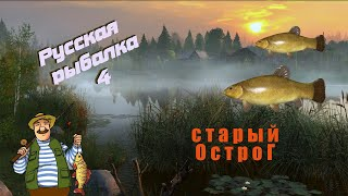 Русская рыбалка 4 старый Острог Линь