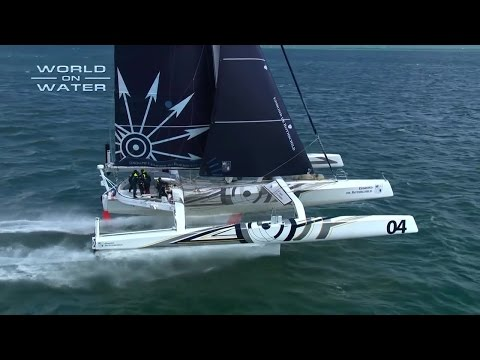 World on Water April 07 17 Global Sailing News. Maxi Foiler, ExSS Act 1, VOR Social Media more