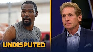 Skip Bayless: \'Kevin Durant still doesn\'t get enough credit\' | NBA | UNDISPUTED