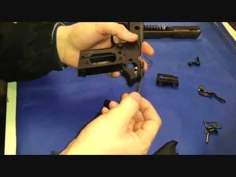 Sig Sauer P229 / P226 (Part 2 of 2) DAK trigger and re-assembly