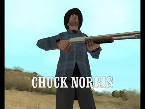 GTA San Andreas - Walker Texas Ranger