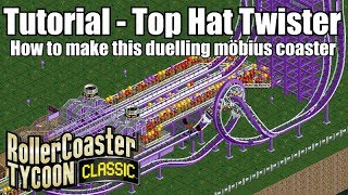 Download lagu Tutorial Top Hat Twister Roller Coaster Tycoon Classic MP3