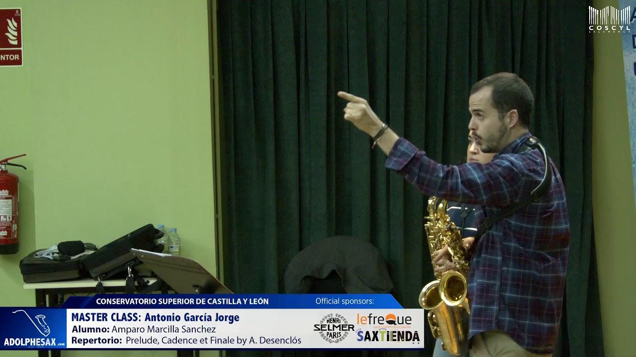 MASTER CLASS - Antonio Garcia Jorge - Amparo Marcilla Sanchez (COSCYL)