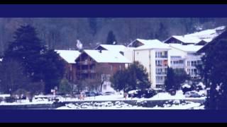 The View Of Bönigen sea (Interlaken) in Switzerland full HD