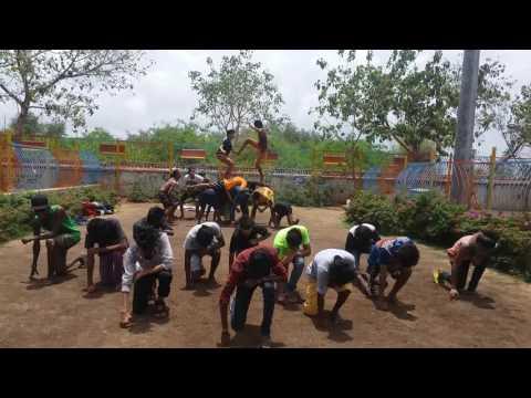 The crew INDIA (Teenagers crew INDIA) rehearsal video