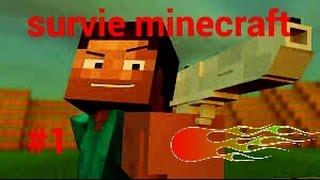 Minecraft survie #1