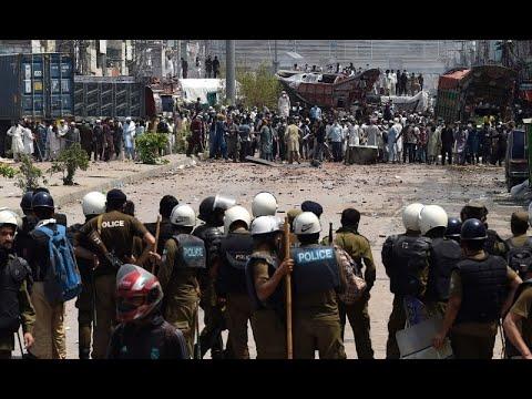 TLP: Yateem Khana Chowk Lahore Today.