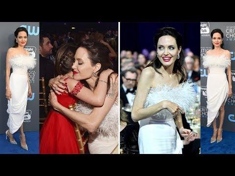 Angelina Jolie at Critics Choice Awards 2018