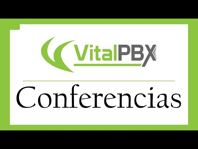 VitalPBX - Conferencias