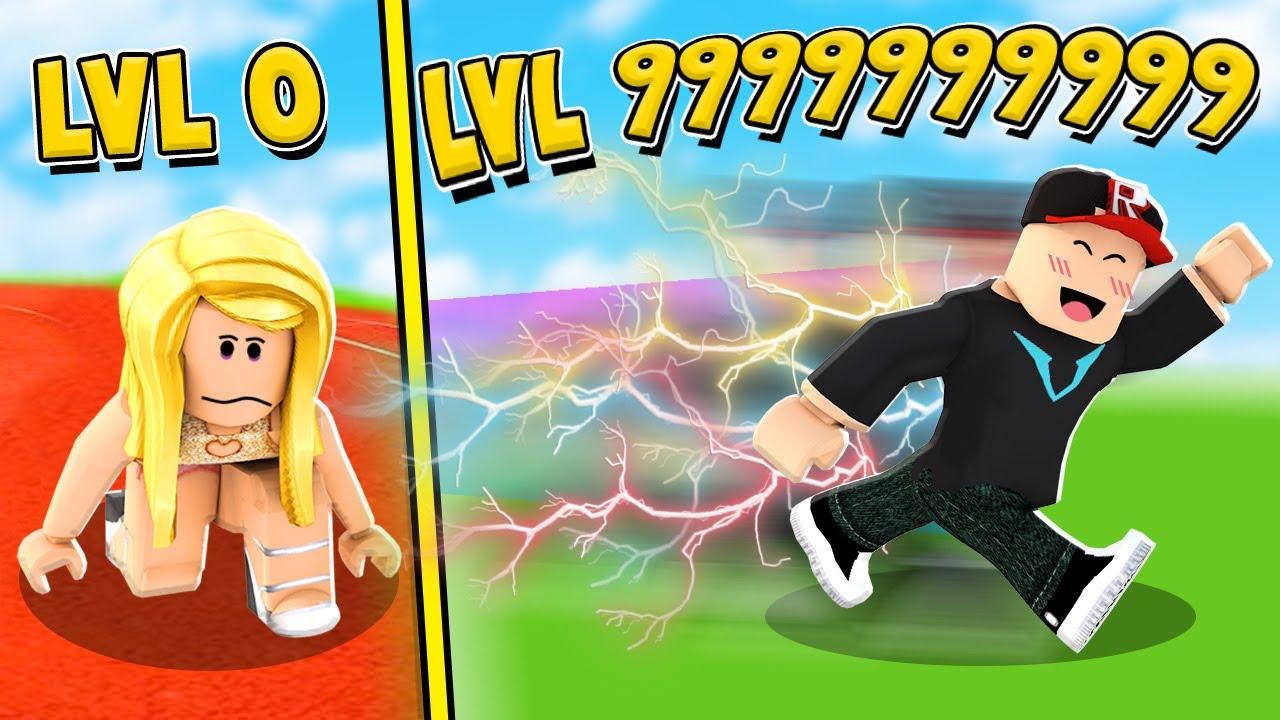 WBIŁEM MAKSYMALNY POZIOM 999,999,999 W ROBLOX SPEED RUN SIMULATOR | Vito vs Bella