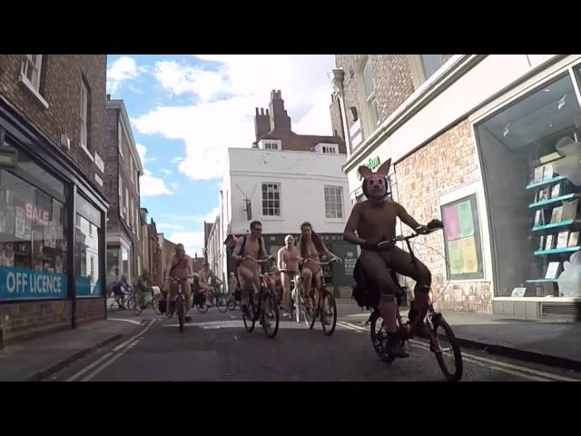 THE 10th YORK NAKED BIKE RIDE 2015 (Quick Edit)