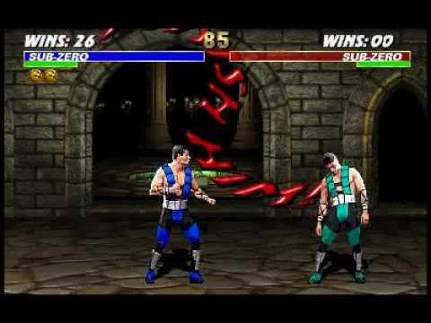 Mortal Kombat 3: Sub-Zero Finishing Moves