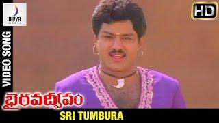 Bhairava Dweepam Telugu Movie | Sri Tumbura Video Song | Balakrishna | Roja | Divya Media