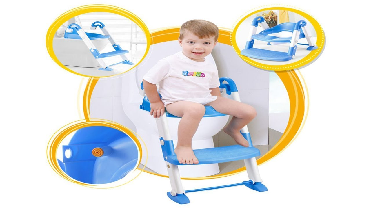 Top Gadget For Kids Baby Potty Training Seat with Step Stool Ladder ...