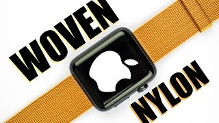Apple Woven Nylon Band for Apple Watch 42mm - Review