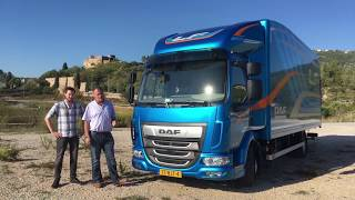 Daf LF City review 2017 - A Week In Trucks