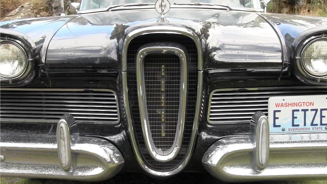 Edsel Ford Car Failure