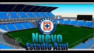 Nuevo Estadio Azul   Proyecto No Ofical