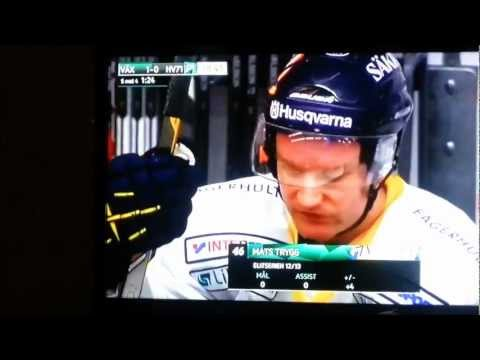 Worst/best Ice hockey own goal by the norwegian player Mats Trygg