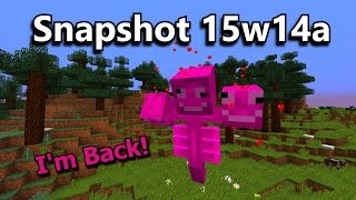 Minecraft Snapshot 15w14a- The April Fool