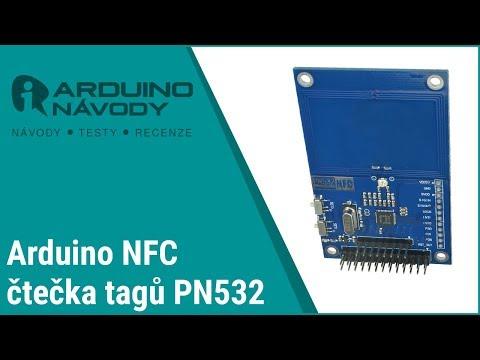 Arduino návody | NFC čtečka tagů PN532 - YouTube