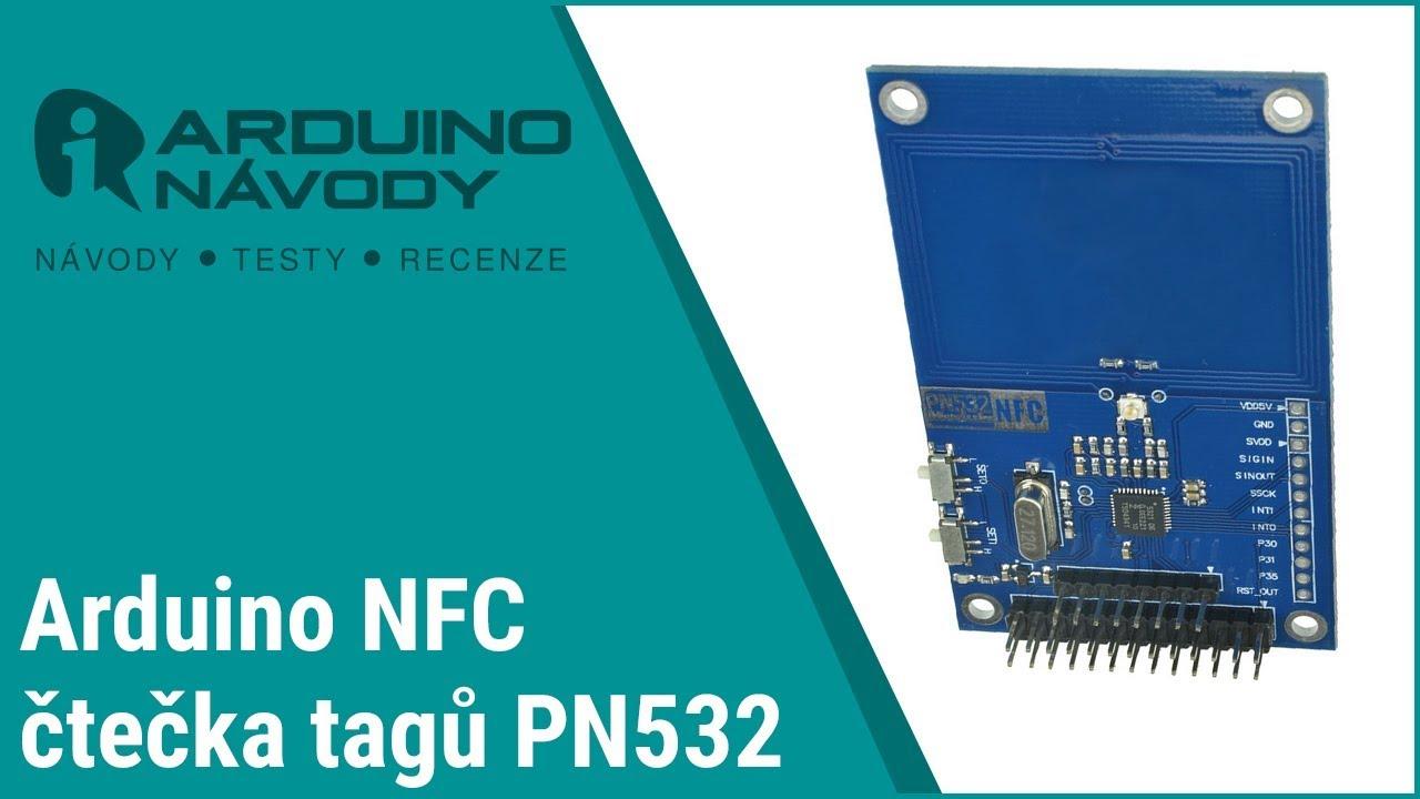 Arduino návody | NFC čtečka tagů PN532