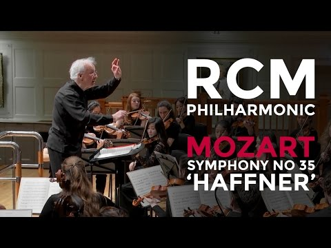 RCM Philharmonic: Mozart Symphony no 35 in D major K385 'Haffner'