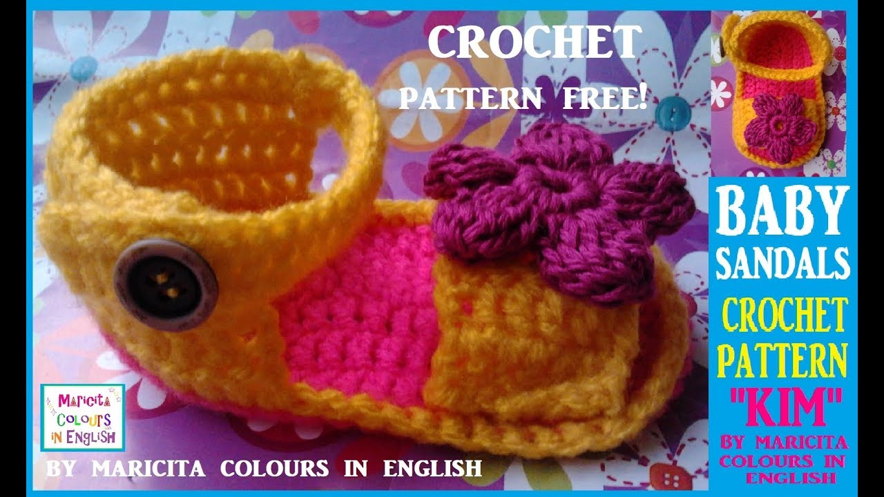 Baby sandals kim crochet part 1 free pattern by maricita baby sandals kim crochet part 1 free pattern by maricita colours in english bankloansurffo Image collections